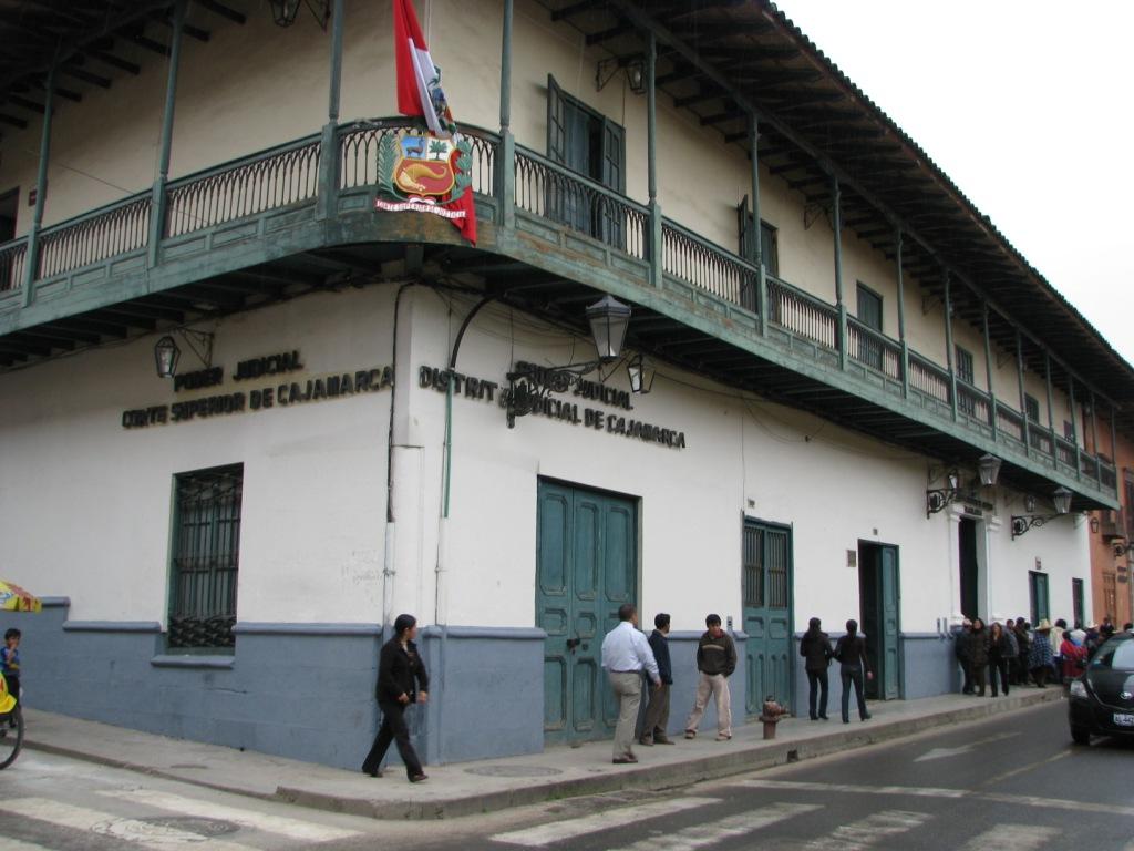 Poder Judicial Del Per Corte Superior Justicia Cajamarca
